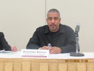 R.A.C.E's Executive Director, Reynaldo Reaser
